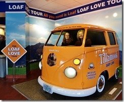 Tillamook Cheese Factory Baby Loaf VW