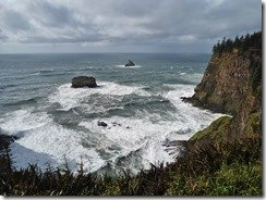 View from Cape Meares Lighthouse