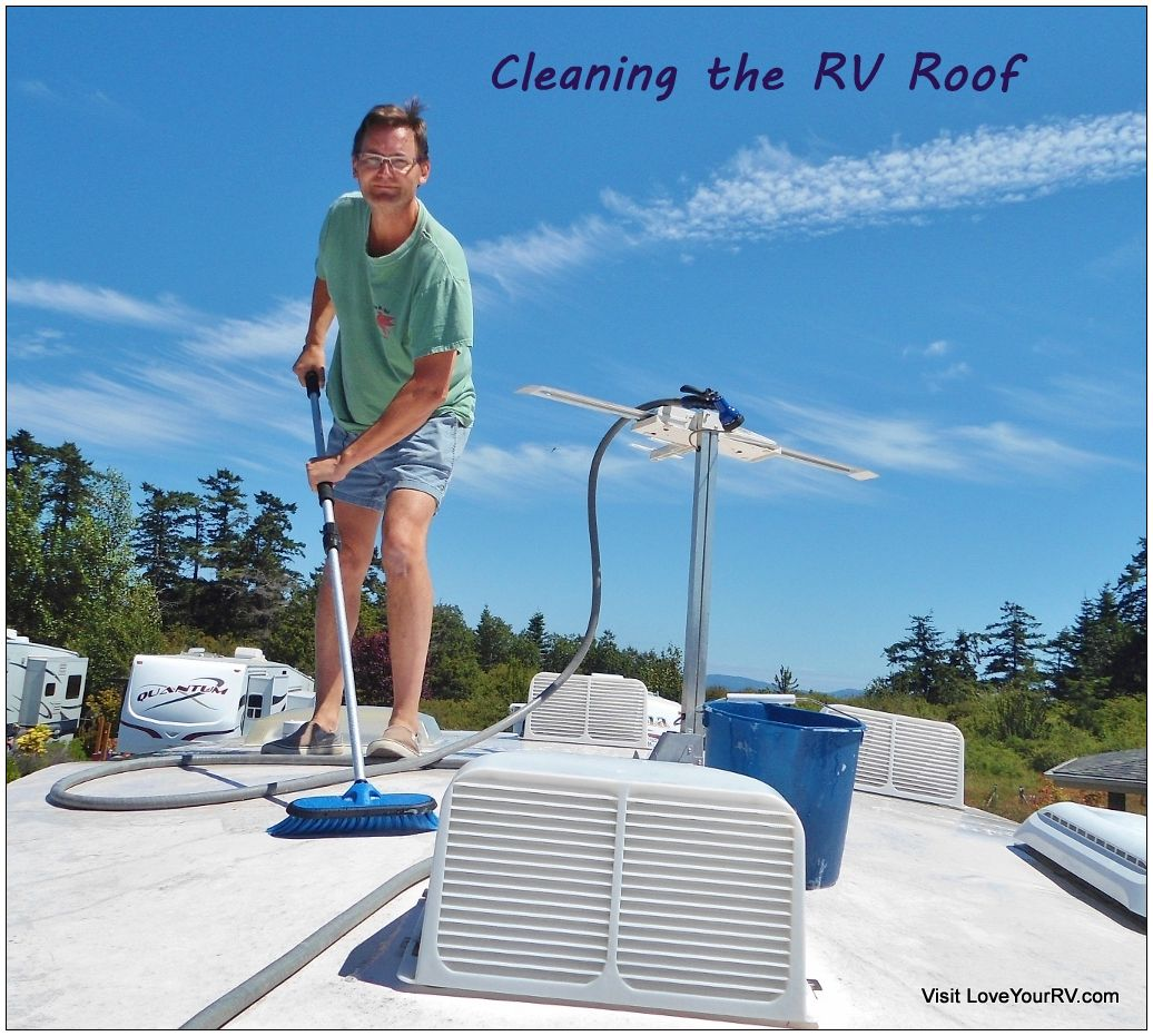 RV Roof Clean