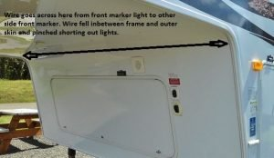 Marker lights repair