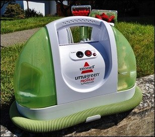 Bissell Little Green - ProHeat Frontview