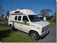 My awesome 1989 Ford camper van
