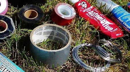 Duct Tape and Bailing Wire are your Friends