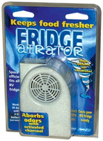 Place Small Fan In Rv Fridge To Aid Cooling