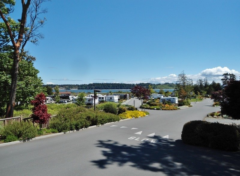 Review Of The Oceanside Rv Resort Near Victoria Bc