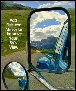 Convex Auto Mirror for RV