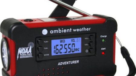 Keep a Battery Operated Weather Alert Radio in the RV