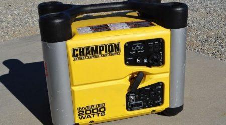 Champion 2000w Inverter Generator Maintenance