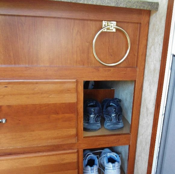 Cubby Hole For Shoes Mod - Complete