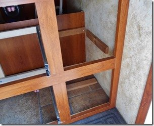 Cubby Hole For Shoes Mod - Framed