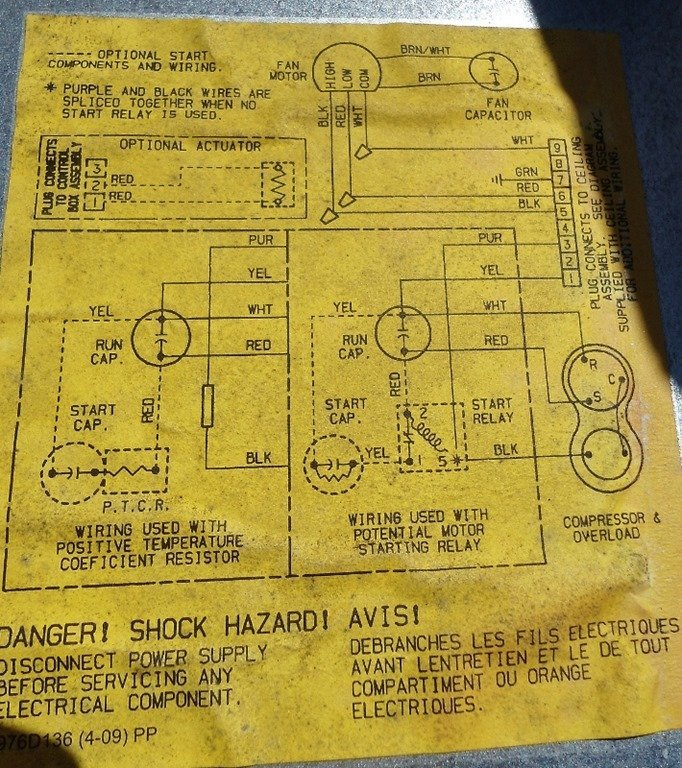 coleman ac ac wiring diagram trusted wiring diagram hvac motor wiring diagrams installing hard start capacitor into my rv air conditioner ac motor wiring diagram coleman ac ac wiring diagram