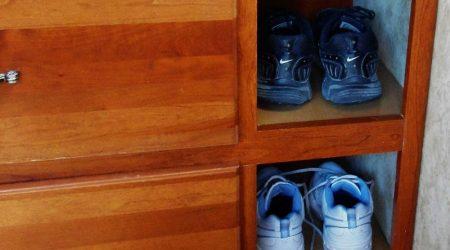 Keystone Cougar Fifth Wheel Shoe Storage Mod