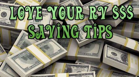 Tips for Saving Money When RVing
