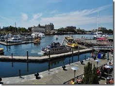 Victoria BC's Busy Inner Harbour