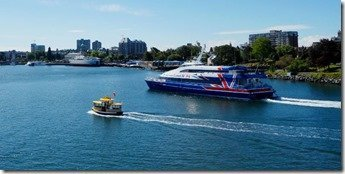 Victoria Clipper Enters Harbour