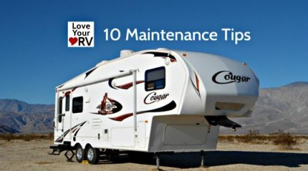 10 Simple Tips to Help Maintain the RV