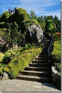 Sunden Garden Mound Stairway