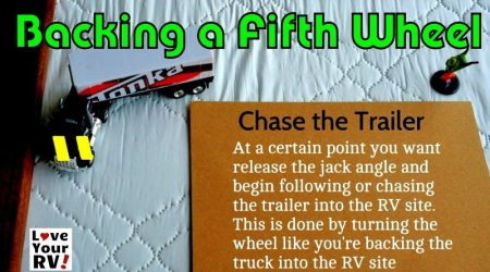 How I Back Up a Fifth Wheel Trailer