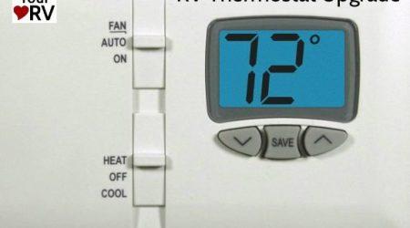 Update RV Thermostat Tip