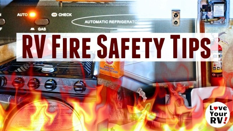 RV Fire safety tips and advice feature photo