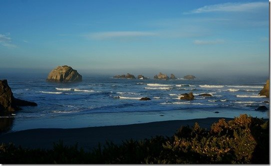 Face Rock in Bandon Oregon