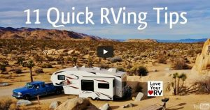 11 quick little RVing tips from a fulltimer feature photo