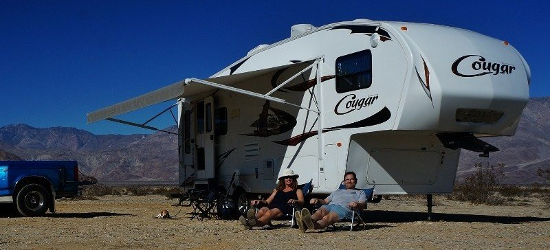 Boondocking in the Us South West