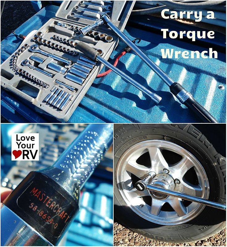 Carry a Torque Wrench for RV Maintenance - Love Your RV! https://www.loveyourrv.com/ #RV #Advice