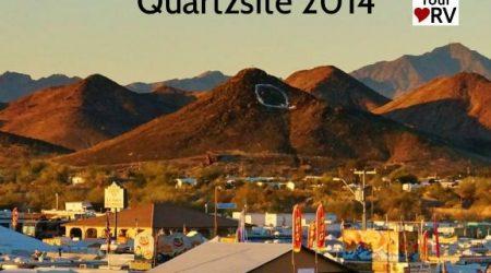 Quartzsite 2014 for Big Tent RV Show