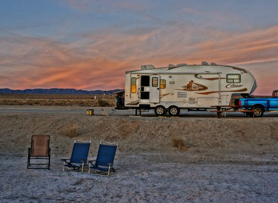 Salton Sea Corvina Beach Feature Photo