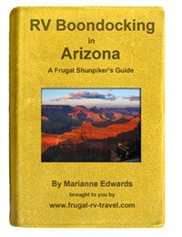 Arizona Boondocking Guide Cover