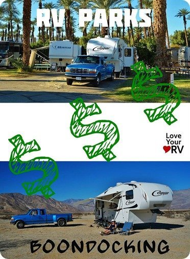 Dry Camping Versus RV Park
