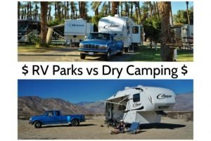 RV Park vs Dry Camping Feature Photo