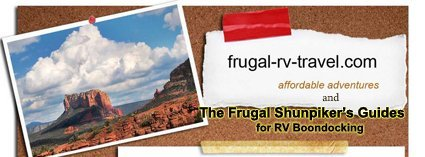 The Frugal Shunpiker's Guides to RV Boondocking