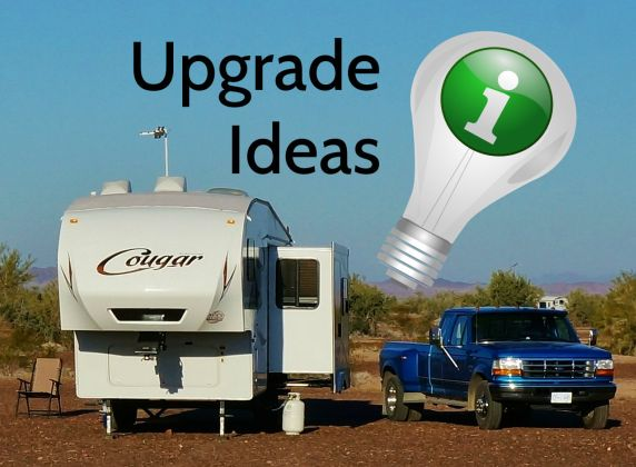 RV upgrade ideas