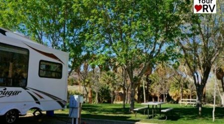 Return to Palm Creek Resort RV Park in Nevada