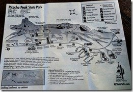 Picacho Peak map