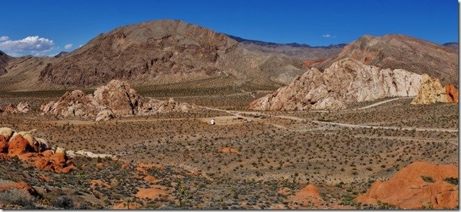 Whitney Pockets BLM panorama