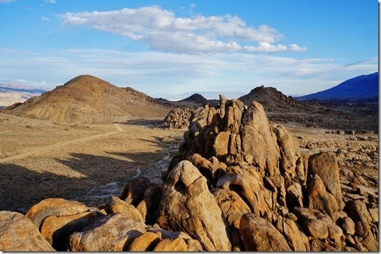 Looking south from Alabama Hills