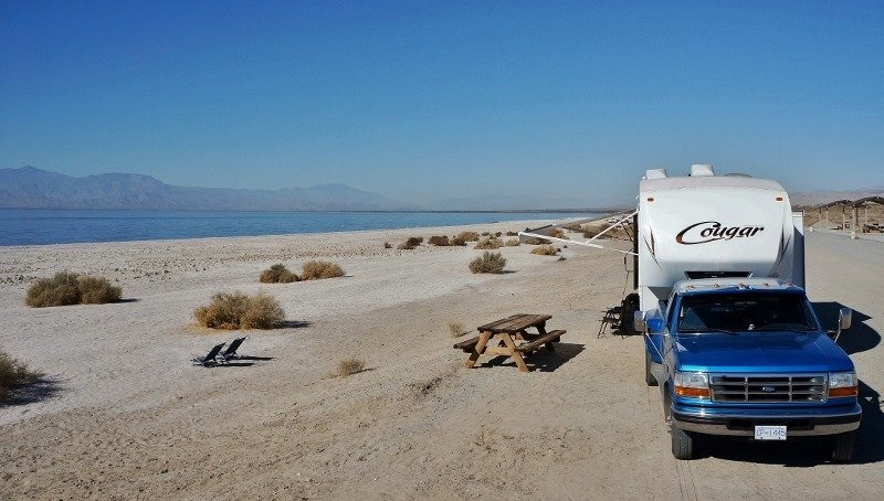 Salton Sea State Rec Area California