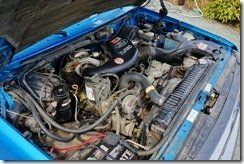 Blue's 7.3L engine
