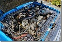 Blue's 7.3L engine