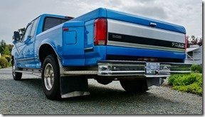 Our F350 Rear View