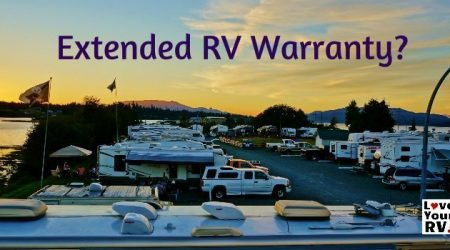 What About an Extended Warranty for the RV?