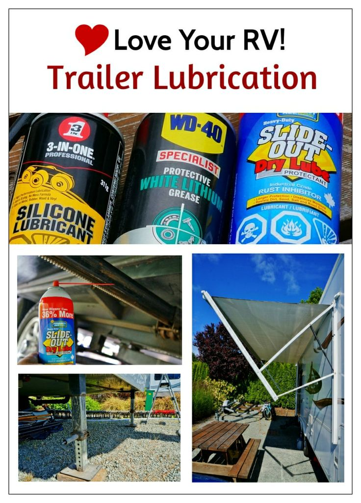 Lubing My Fifth Wheel Trailer by the Love Your RV! blog - https://www.loveyourrv.com/ #RV #howto