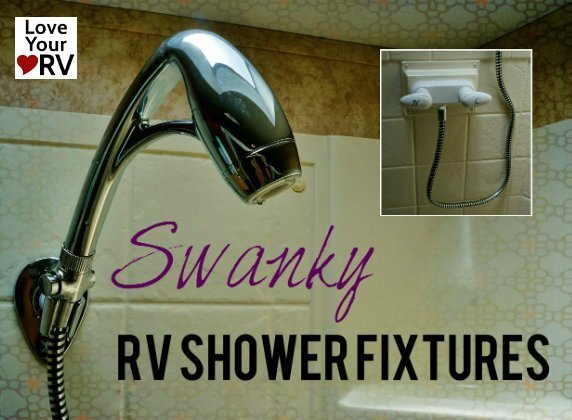 RV Shower Fixture