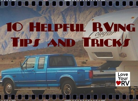 Ten Helpful RVing Tips and Tricks