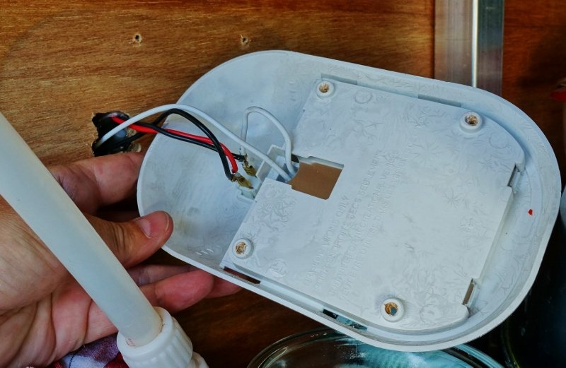 adding led lighting to my rv kitchen pantry rh loveyourrv com RV Wiring Diagrams Online RV Wiring Diagrams Online