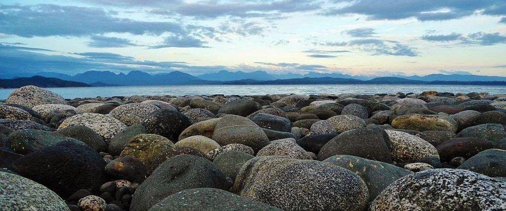 Rebaecca Spit Rocks
