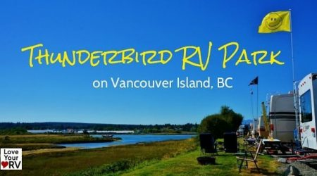 Review of the Thunderbird RV Park in Campbell River BC